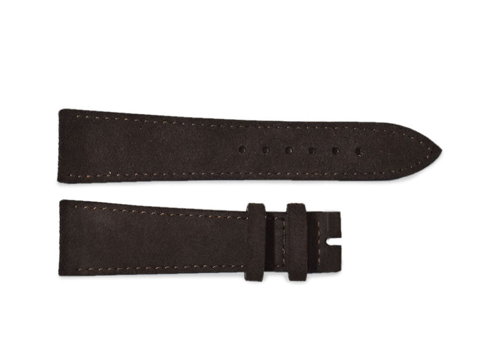 Mocha Nubuck Leather Strap