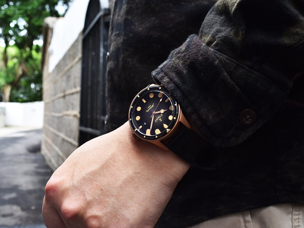 Tropic Diver Bronze Fume Black