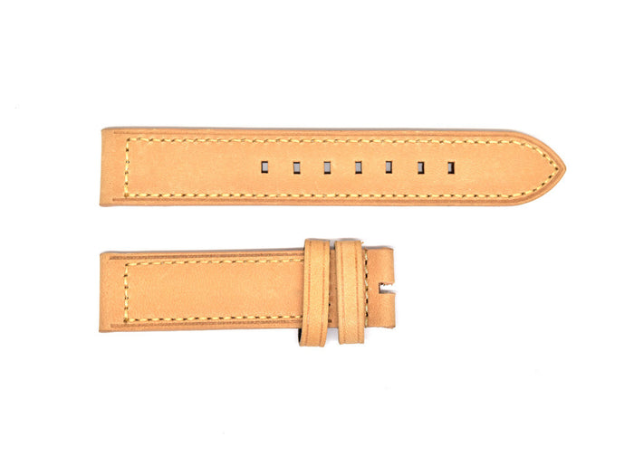 Beige Italian Leather Strap