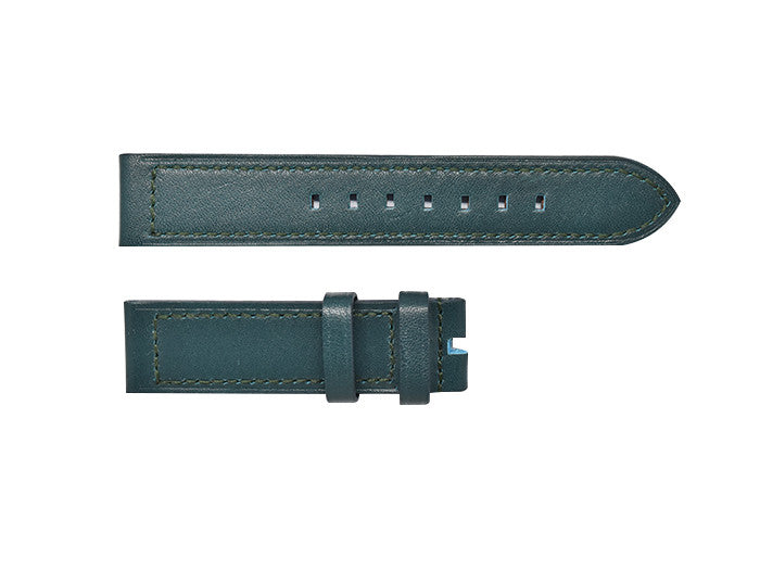 Deep Ocean Turquoise Leather Strap