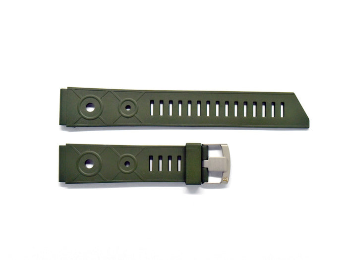 Military Green Tropic Rubber Strap