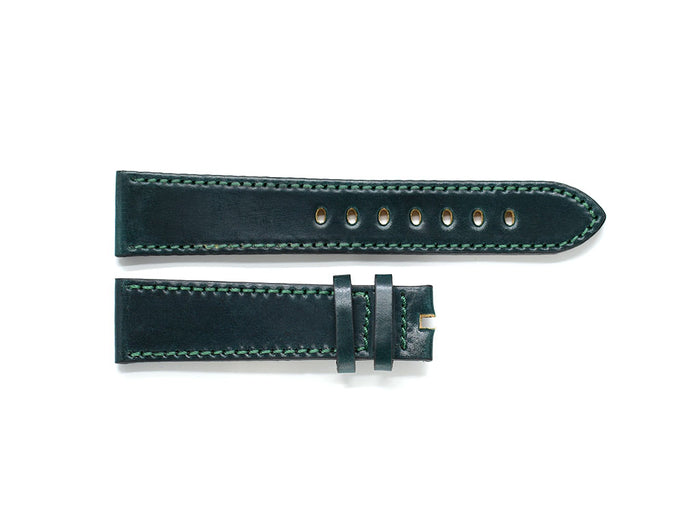 Hunter Green Shell Cordovan Leather Strap