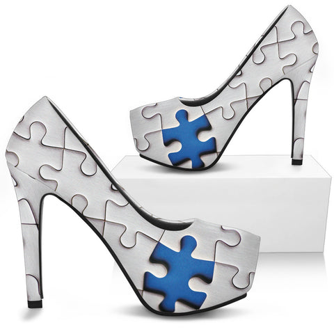 AUTISM AWARENESS HEELS