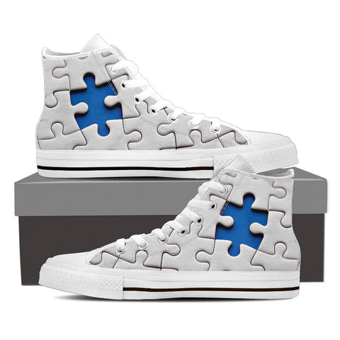Autism Awareness Women High top - Low Top - Crew Socks