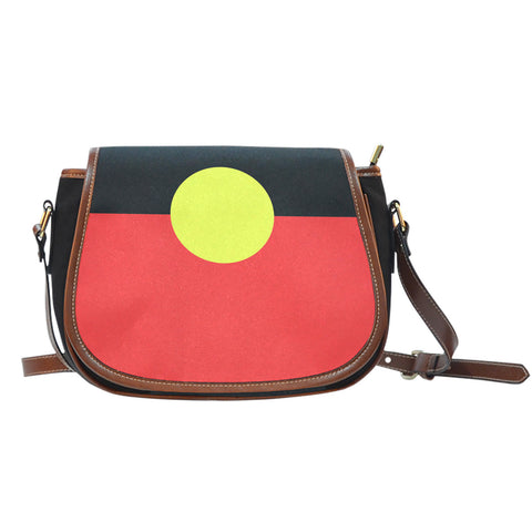 Saddle Bag - Indigenous Flag