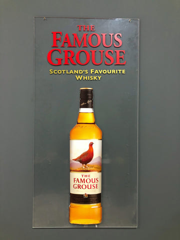 """The Famous Grouse"" İskoçya Viski Tabela"