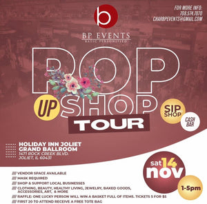BP events Pop up Shop Tour