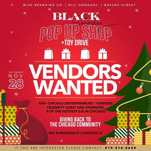 Black Saturday Pop up shop + Toy Drive