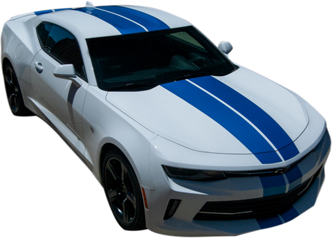 Chevrolet Camaro Graphics- Duel Full Stripe