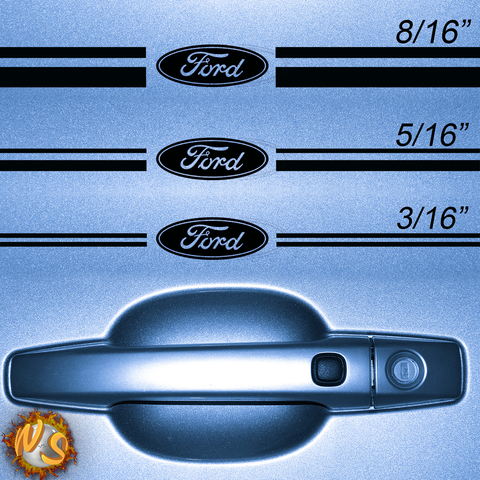 Ford Oval Pinstripe Kit 1033