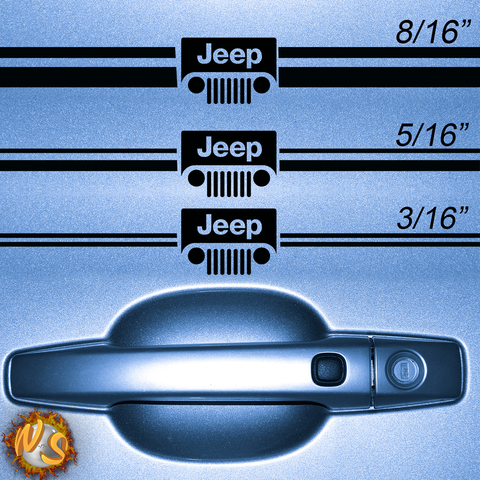 Jeep 2 Pinstripe Kit 1032