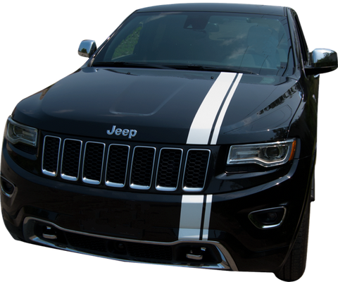 Jeep Grand Cherokee Graphics- Rally Stripe