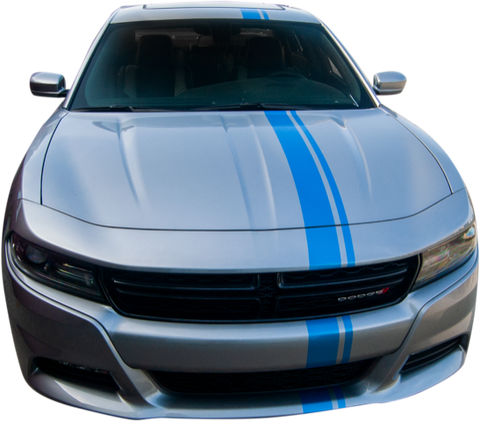 Dodge Charger Graphics- Euro Rally Stripe