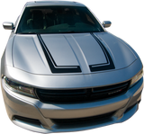 Dodge Charger Graphics- Racing Hood Scallops