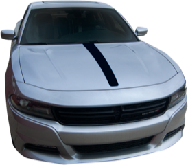 Dodge Charger Graphics- Hood Spear