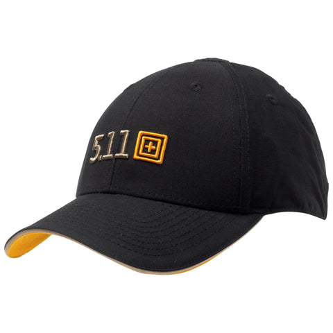 5.11 Tactical Recruit Hat - Black - Front view