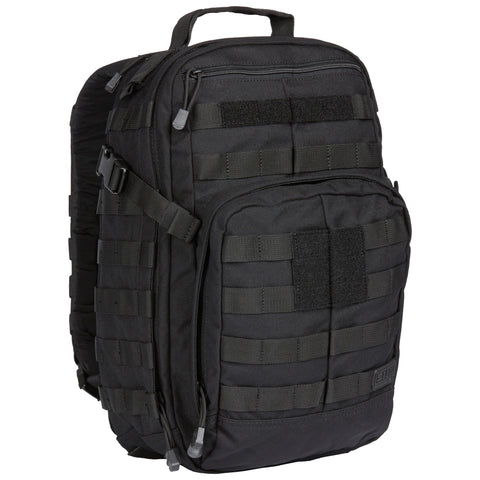 5.11 Tactical Rush 12 Backpack - Half day pack - Black - Angle
