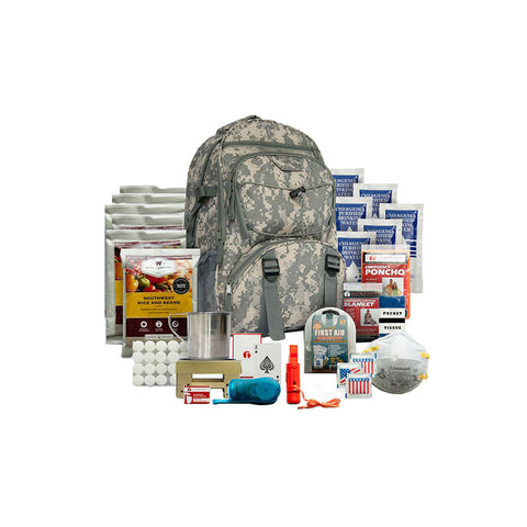 Wise Foods 5 day survival backpack - camouflage
