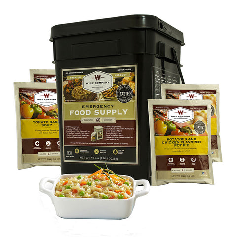 Wise Foods 60 serving grab and go bucket