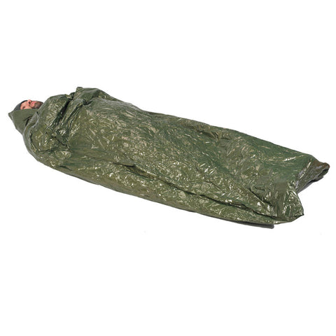 NDuR Emergency Survival Bag in use