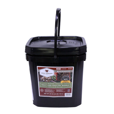 Wise Foods Grab and Go Bucket - Protein only - 80 servings