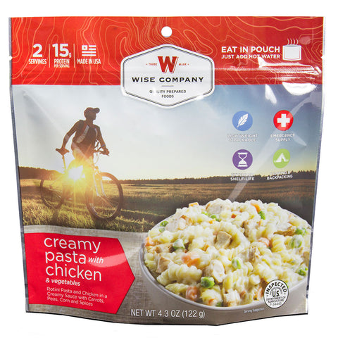 Wise Foods Creamy Pasta and Vegetables with Chicken