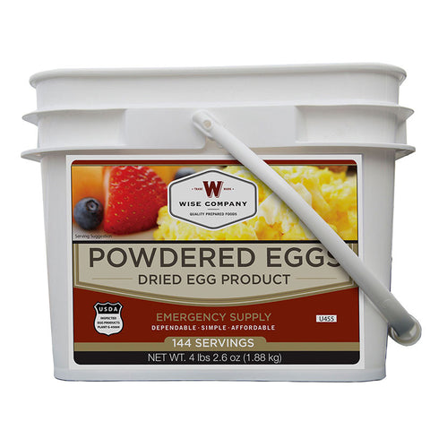 Wise Foods Powdered Eggs In a Bucket (144 Servings)