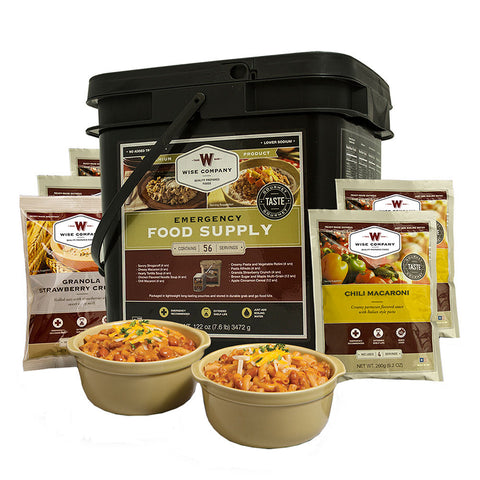 Wise Foods grab and go 56 serving bucket