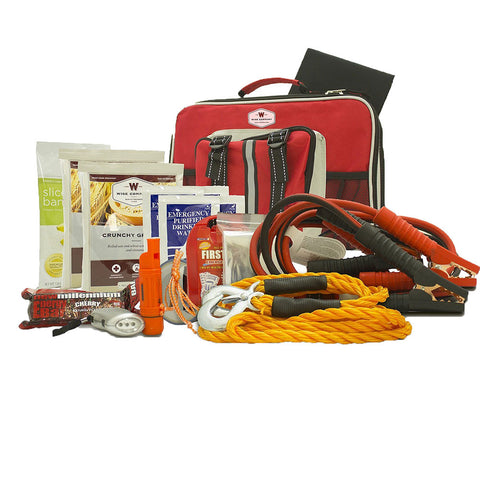 Wise Foods emergency car kit
