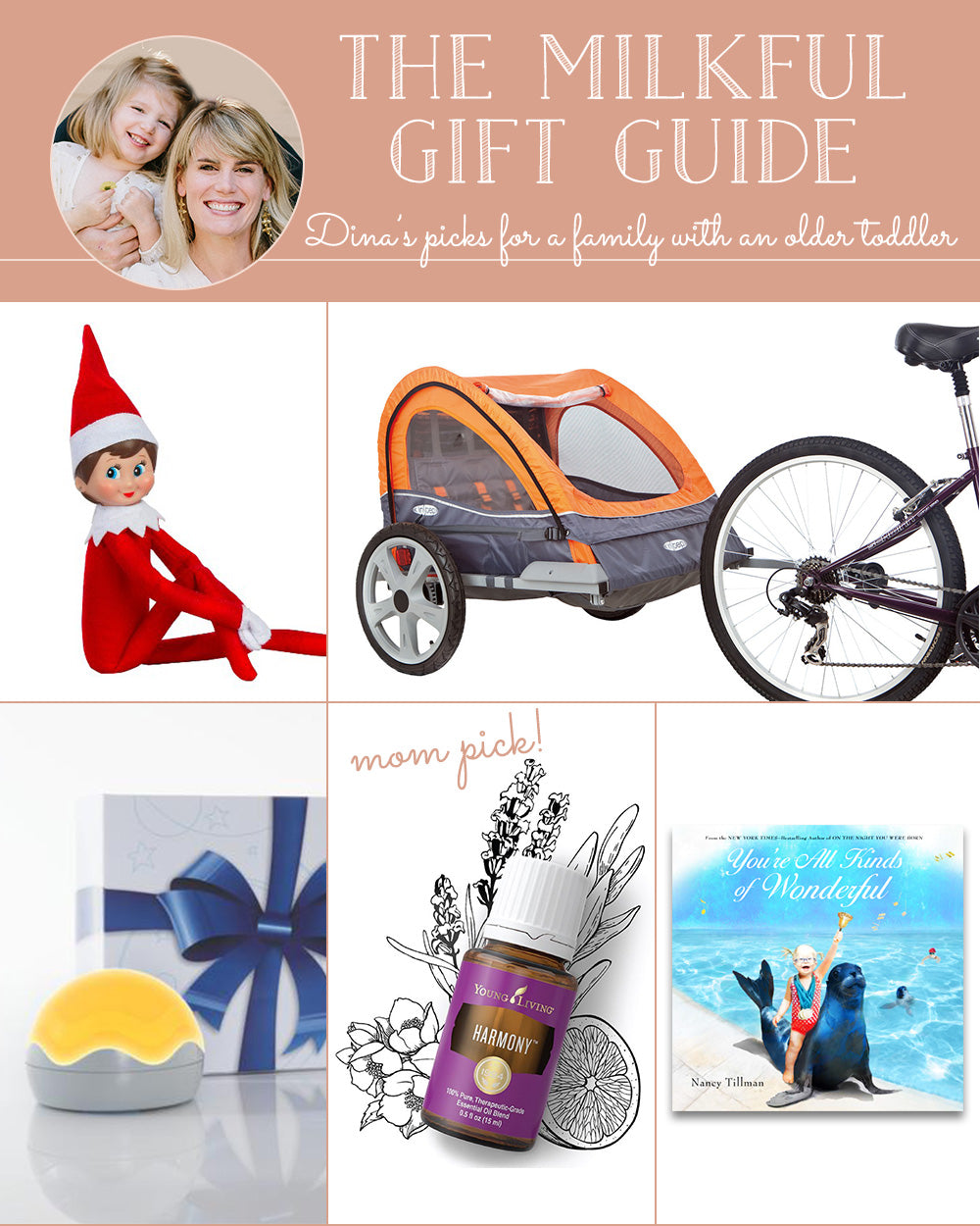 The Milkful Gift Guide for a Family with an Older Toddler