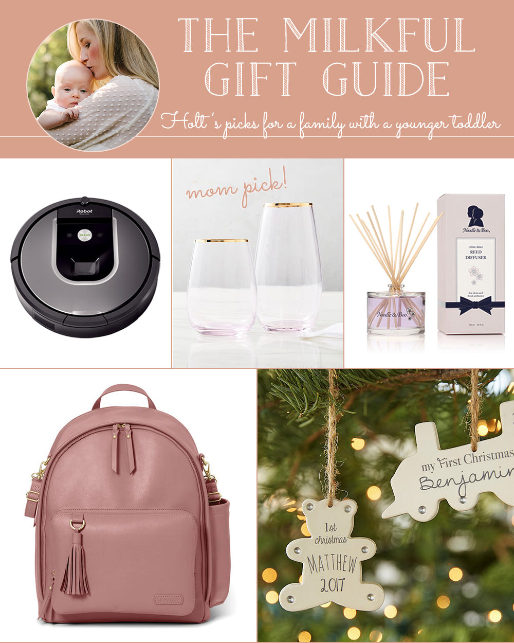 The Milkful Gift Guide for a Family with a Younger Toddler
