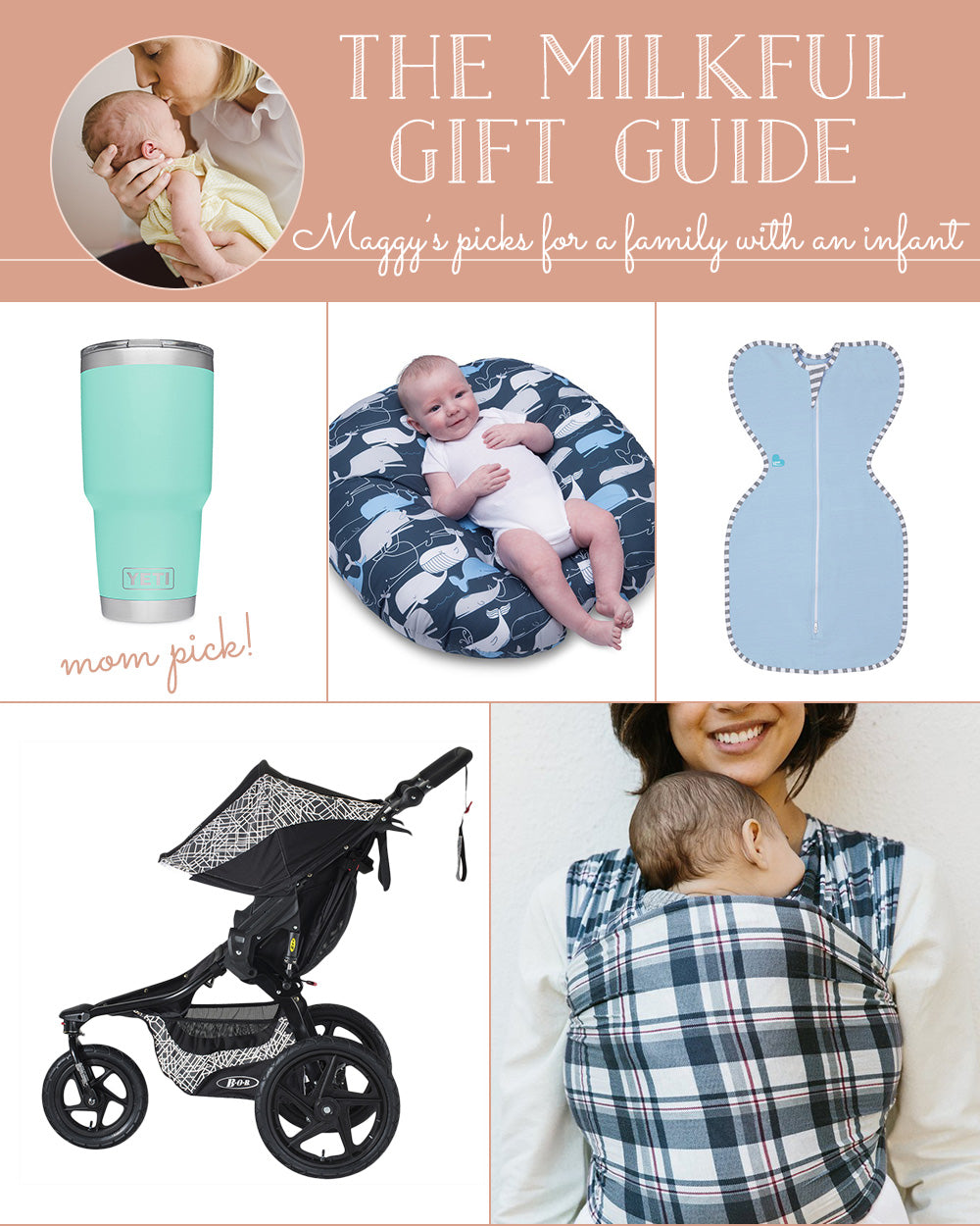 The Milkful Gift Guide for a Family with an Infant