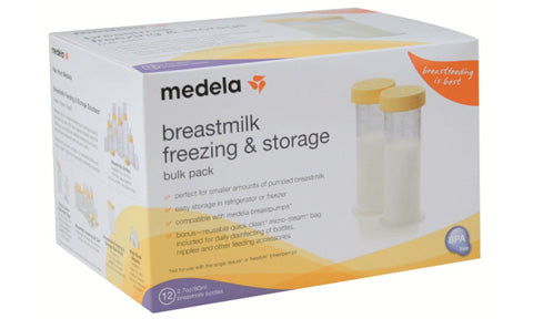 #MomTalk: Products that Helped Me Survive the First Two Weeks of Breastfeeding - Medela 2.7 Containers