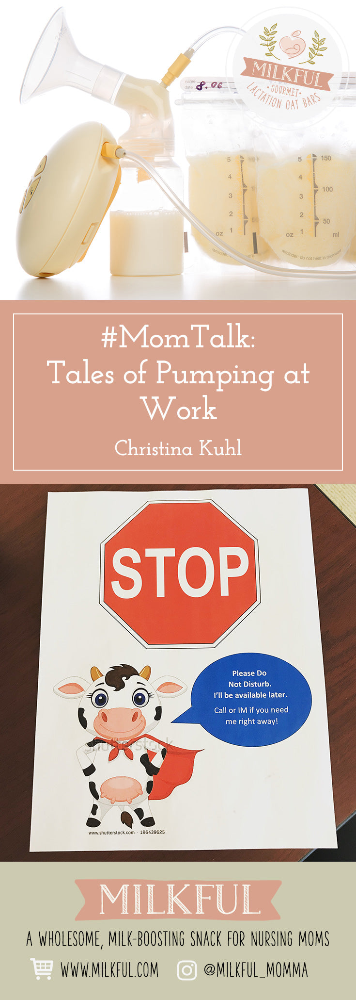 #MomTalk:  Tales of Pumping at Work by Christina Kuhl