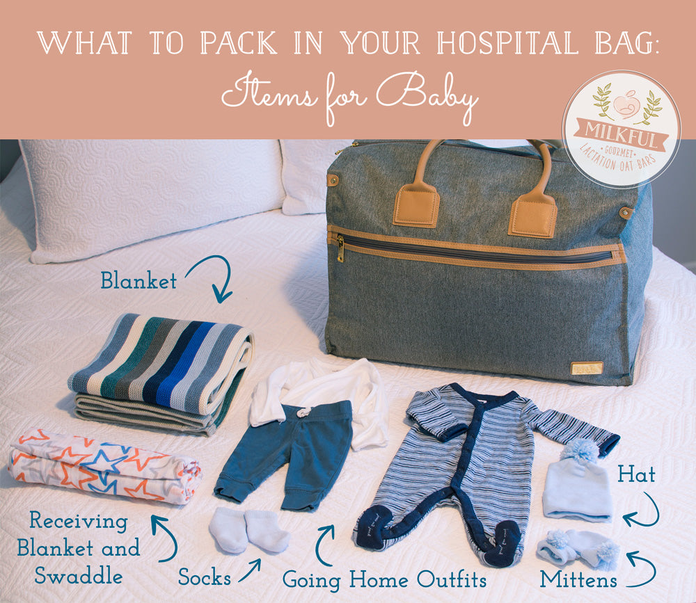 What to Pack in Your Hospital Bag: Items for Baby
