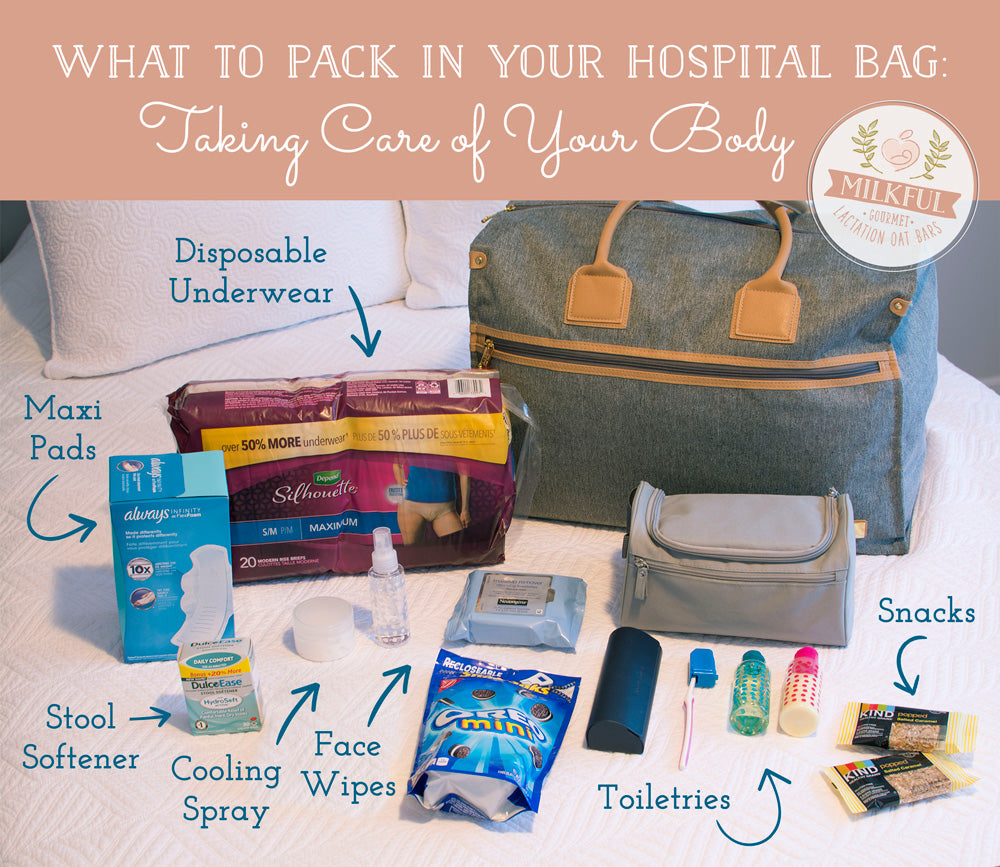What to Pack in Your Hospital Bag: Items for Your Body