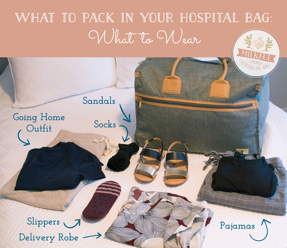 What to Pack in Your Hospital Bag: What to Wear