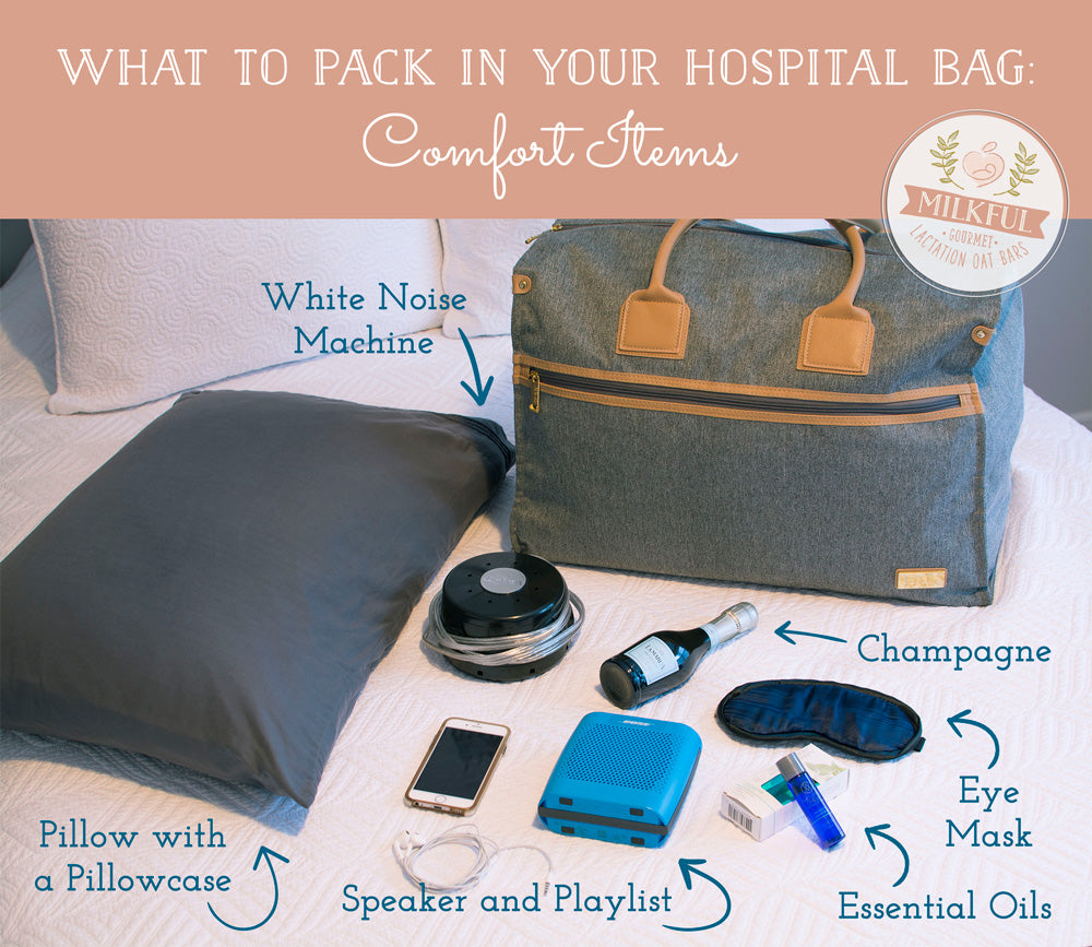 What to Pack in Your Hospital Bag: Comfort Items