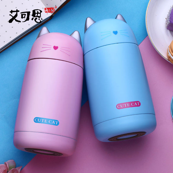 Cat Thermo Mug - Cute Kitty Cat Thermo Cup