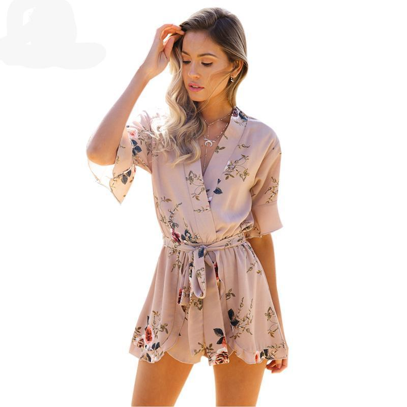 Boho Flora Rompers