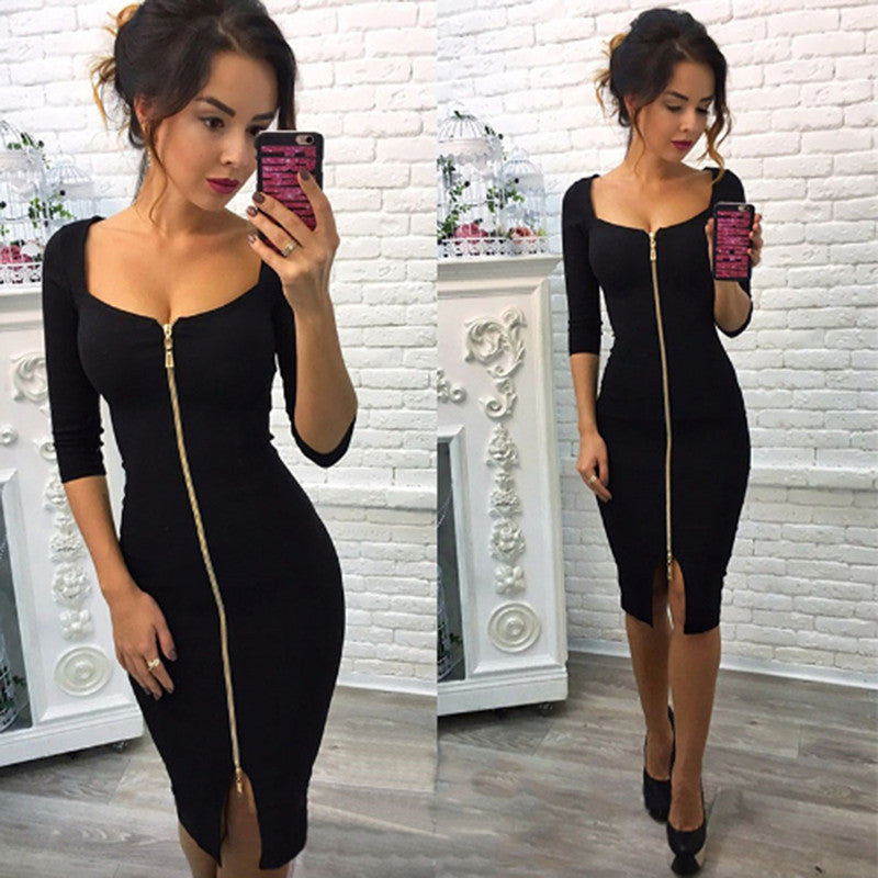 Long Sleeve Party Dress for  Women