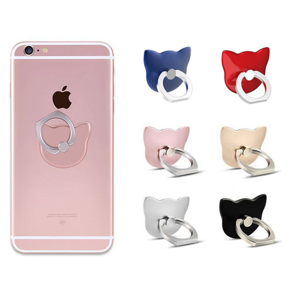 Cute Cat Phone Ring Holder