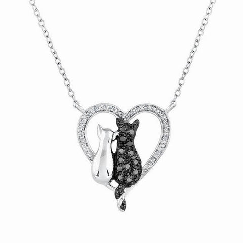 Love you forever Cat Necklace