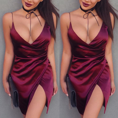 Bandage Hot Bodycon Sleeveless sexy dress