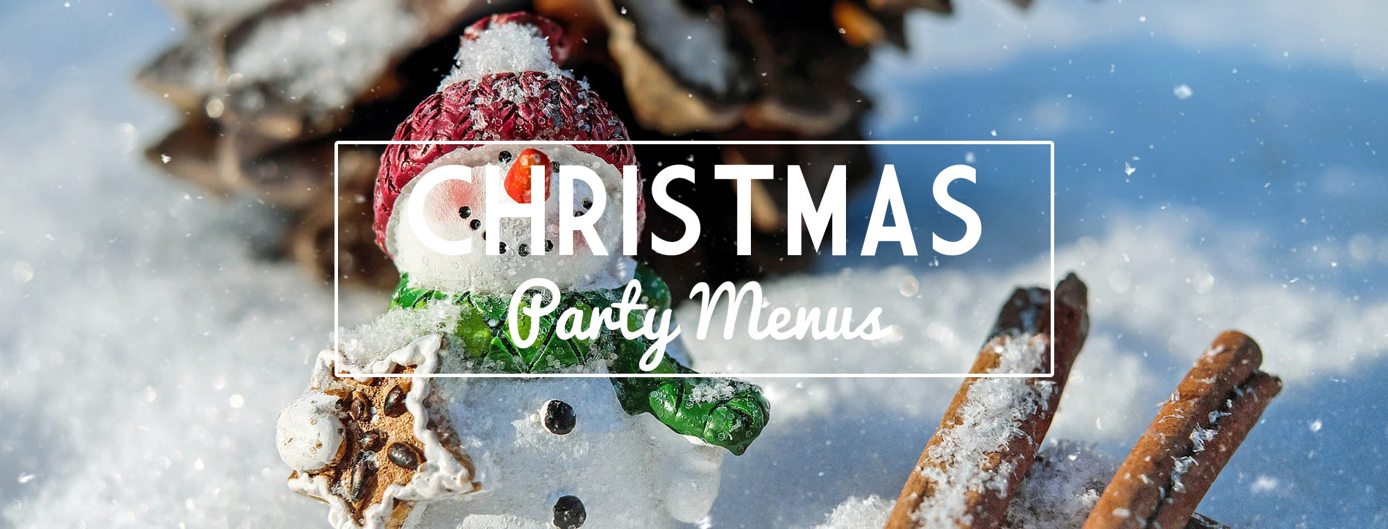 Christmas Party Menu and Christmas Party Venue in Newport