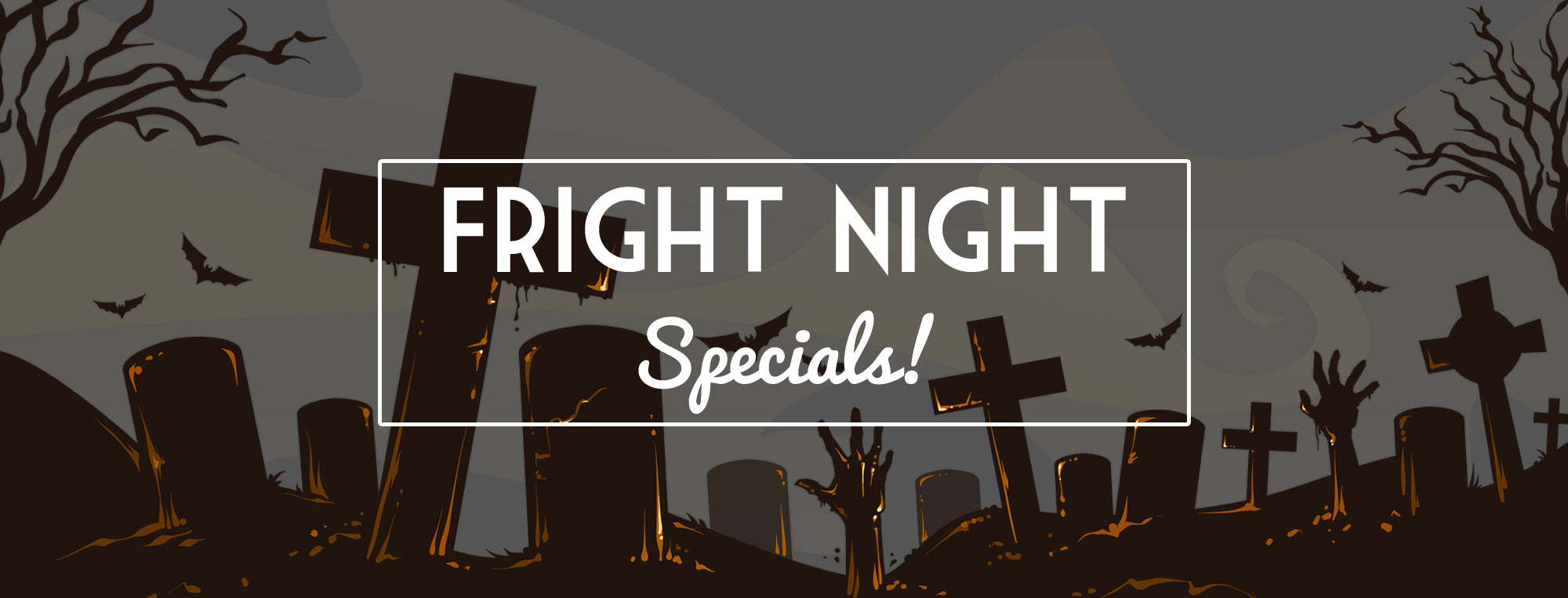 Halloween Specials at The Ridgeway in Newport Fright Night 2018