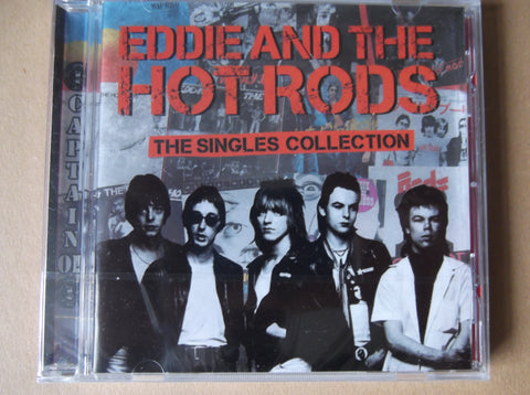 EDDIE & THE HOT RODS the singles collection CD - Savage Amusement
