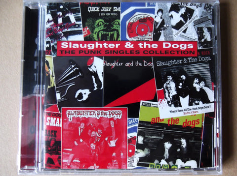 SLAUGHTER & THE DOGS punk singles collection CD - Savage Amusement