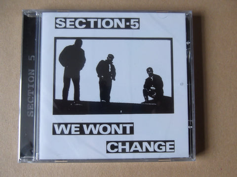 SECTION 5 we won't change CD - back in stock - Savage Amusement