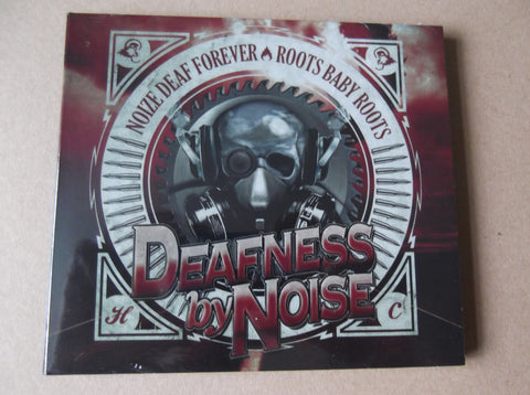 DEAFNESS BY NOISE noise deaf forever / roots baby roots CD 80s STYLE HARDCORE! INSANE PRICE TO CLEAR - Savage Amusement